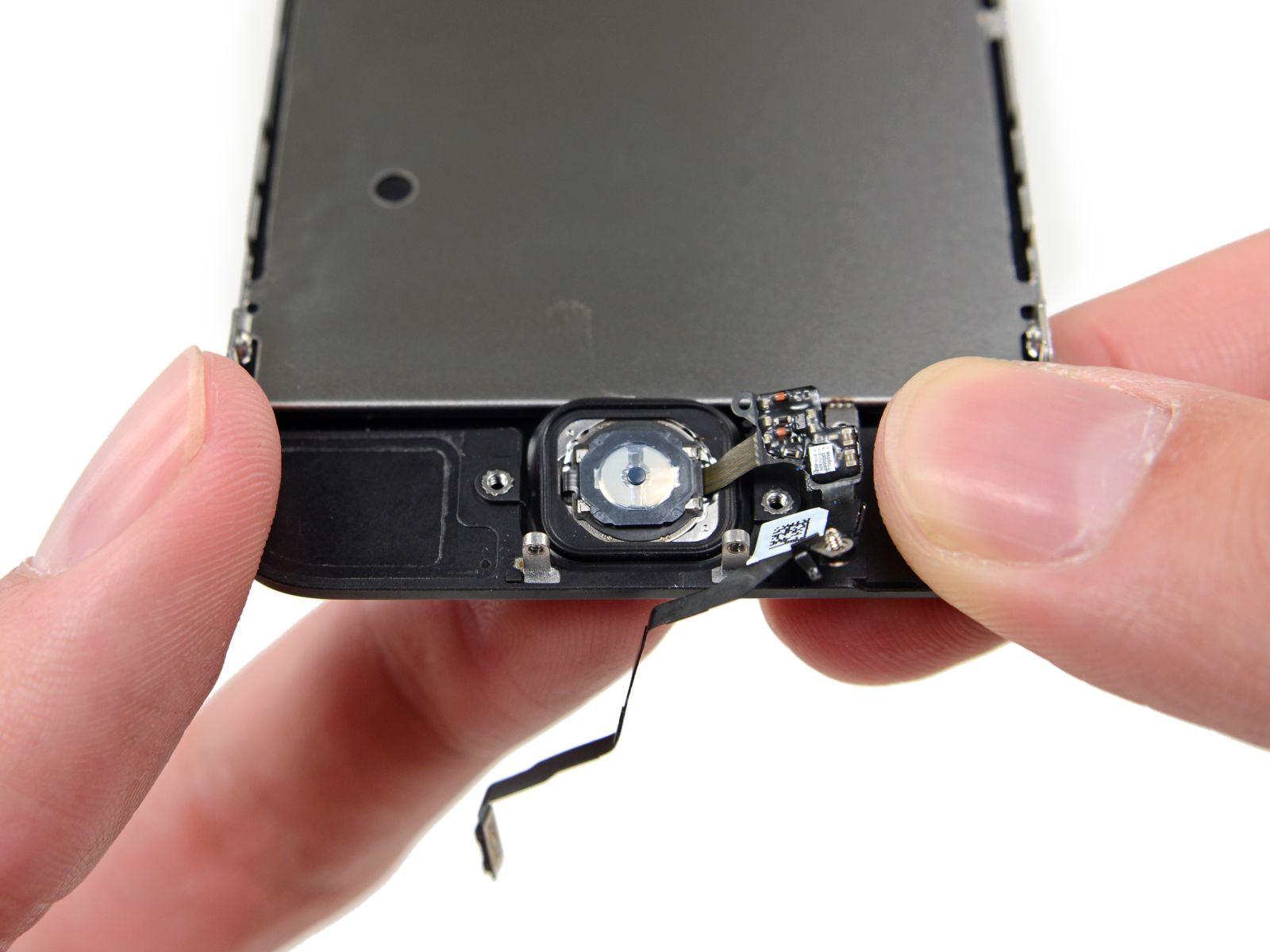 Замена кнопки «домой» на iPhone 5S (35)