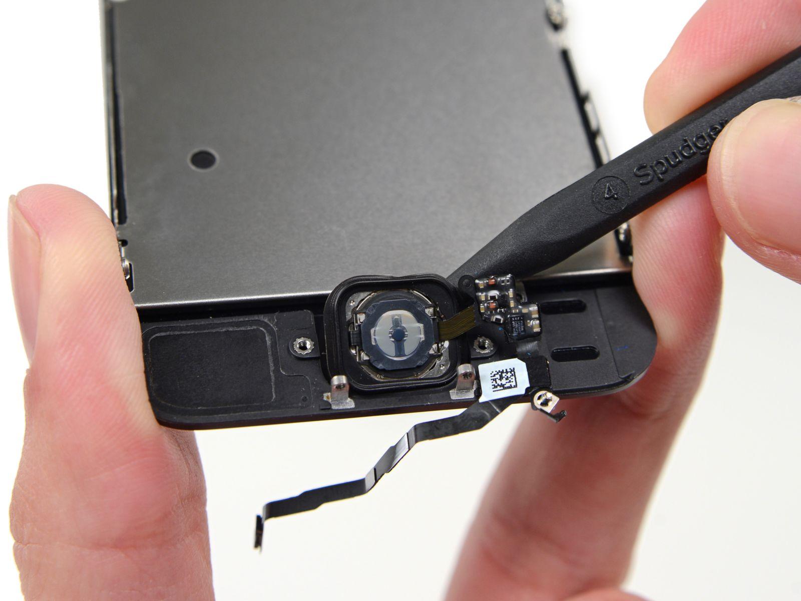 Замена кнопки «домой» на iPhone 5S (36)