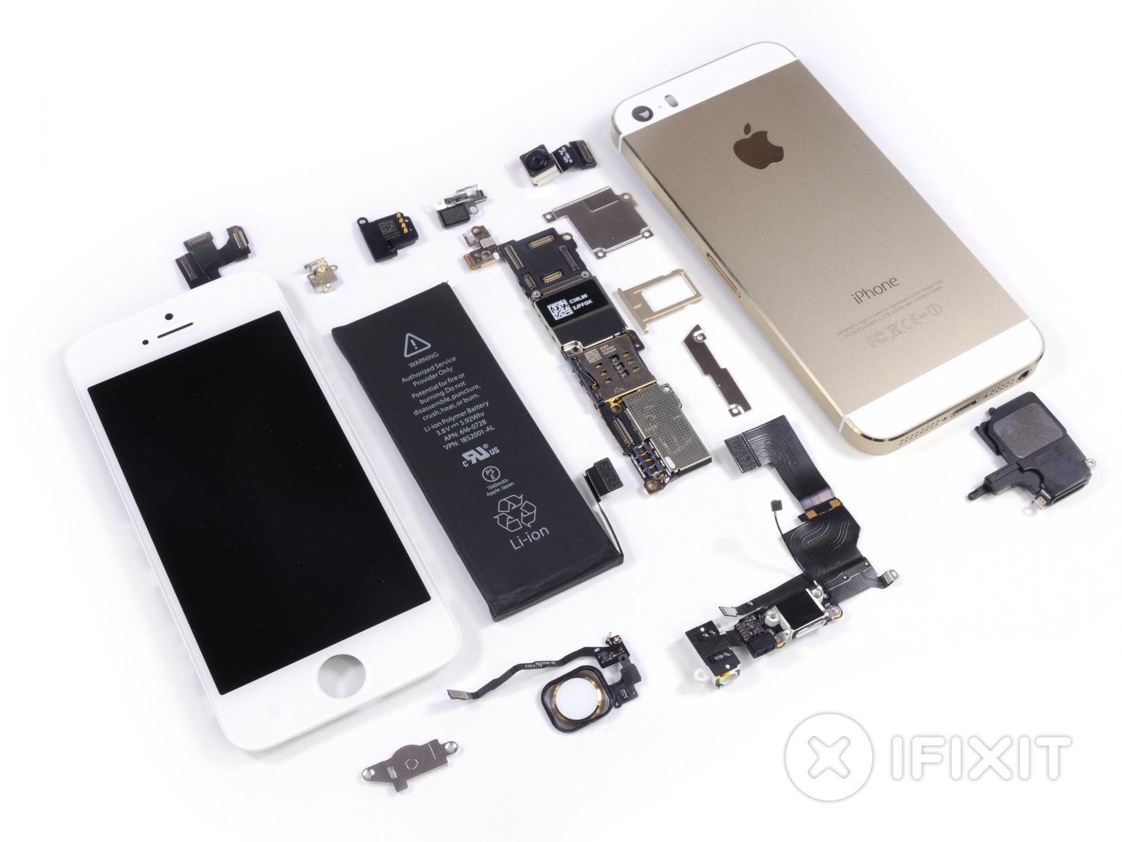 Схема разборки айфона